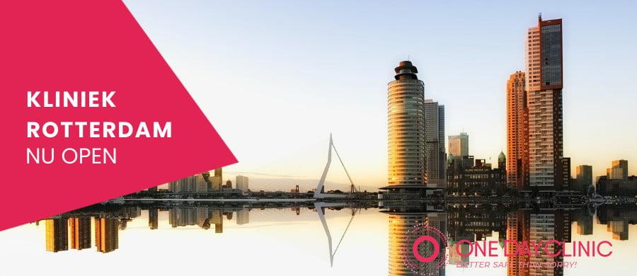 Opening nieuwe soa kliniek Rotterdam